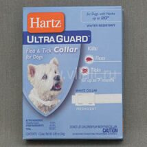 Ошейник Hartz Ultra Guard Collar for Dogs инсектоакарицидный для собак, 24г (белый, для шеи окружностью до 51см)  24g